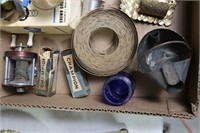 LOT OF VARIOUS ANTIQUE ITEMS