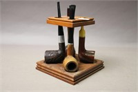 PIPE STAND WITH FOUR PIPES