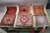 LOT OF 6 WOVEN SEAT COVERS