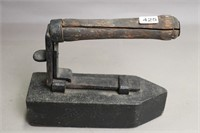 CAST AND WOODEN IRON 9X3X8