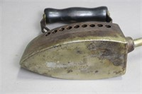 GAS FIRED HOT IRON WITH WOODEN HANDLE10X3X6