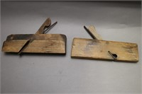 TWO WOOD PLANES