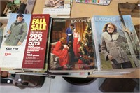LOT OF VINATAGE SEARS CATALOGUES