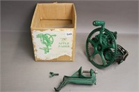 STERLING G WITHERS CAST APPLE PEELER WITH BOX