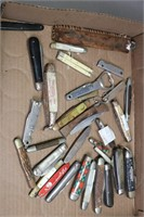 LOT OF POCKET KNIVES