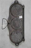MRS SHAEFFERS CAST CAKE GRIDDLE 15""