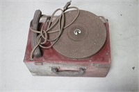 DANSATONE TABLE TOP RECORD PLAYER WITH CASE