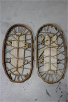 WOODEN SNOW SHOES