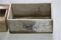 LOT OF THREE WOODEN BOXES