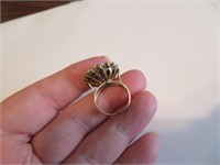 Beautiful Antique Gold Ring Size 5 (READ)