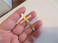 5.3 Grams 14K Gold Cross (unsigned-tested)