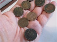 10 Indian Head Pennies