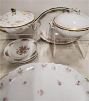 Assorted platters & tureens