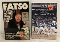 Baltimore Colts Super Bowl mug & books