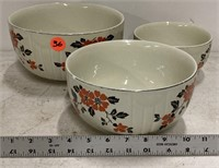 Nest of Hall's bowls