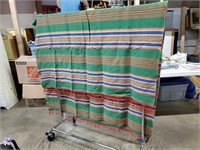 Multi-color blanket/throw