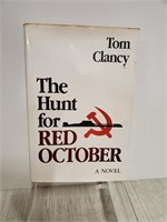 Hunt for Red October 1st edition