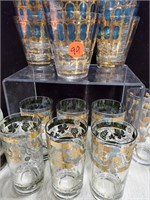 Bar glasses & lot