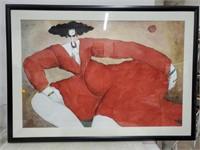 "Art print ""Shanon"" by Michel Bowlet"