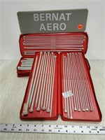 3 sets of Bernat Aero knitting needle