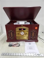 Electro brand turntable/ FM AM/ CD