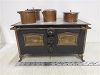 Child's Omega electric play stove,