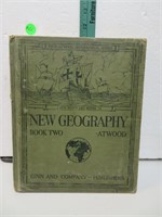 Antique 1920 New Geography Book Two Atwood A New