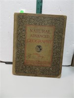 Antique 1901 Natural Advanced Geography Edition