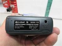 Vintage Lenox Sound Walkman Type AM FM Cassette