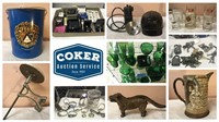 Coker Auction - Ma & Pa's Antiques - Feb. 18-28, 2021
