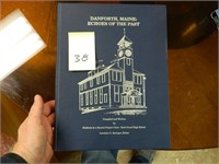 DANFORTH MAINE ECHOES OF THE PAST IN HARDBACK,