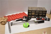 Online Timed Auction - March 2, 2021 (Tools, Wht/Green)
