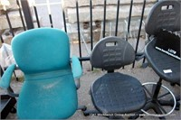 ASSORTED OFFICE CHAIRS (9X MONEY)