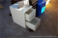 HON 2-DRAWER FILE CABINET
