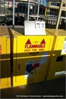 JUSTRITE 25710 FLAMMABLE LIQUID STORAGE CABINET -