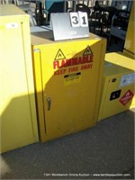 JUSTRITE 25710 FLAMMABLE LIQUID STORAGE CABINET -