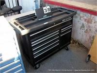 CRAFTSMAN CASTERED 9 DRAWER TOOL BOX