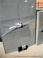 ULINE METAL 2-DOOR CABINET