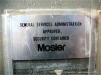 MOSLER 5 DRAWER SAFE, COMBO 50.25.50 OR 50.0.50