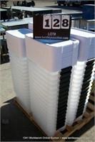 STACK: STERILITE PLASTIC TUBS (16X MONEY)