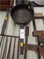 Primitive 18th Century Handled Pot