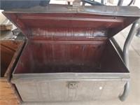 Primitive Tin Storage Box