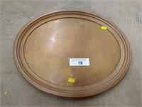 Vintage Copper Serving Plate