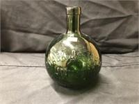 Unusual Embossed European Bottle