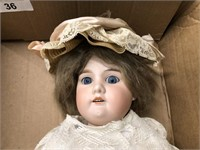 Early 20th Century German Porcelain Doll