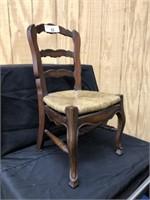 Mahogany Doll Chair
