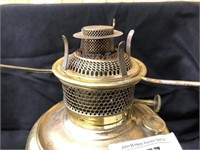 Brass Fluid Light and Glass Compote