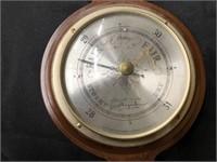 Barometer with Baldwin Brass Decorative Items
