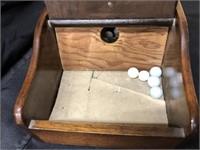 Primitive Wooden Ballot Box