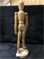 Wood Poseable Figurines